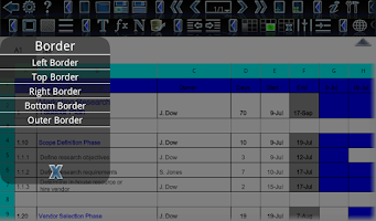 Screenshot of Android Office