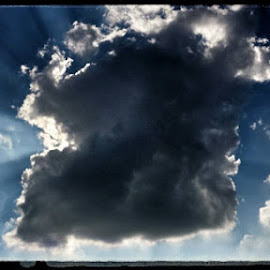 Clouds while out biking last night by Joe Harris - Landscapes Weather