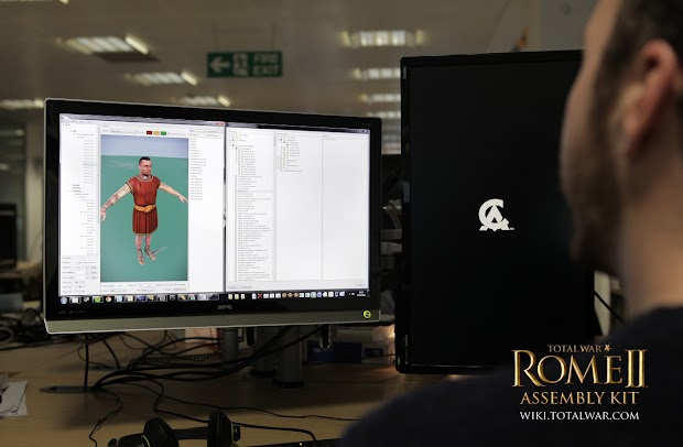Creative Assembly launches the Total War: Rome II Assembly Kit in beta on Steam