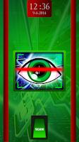 Screenshot of Eye Scanner Screen lock