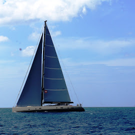 MY Escapade by Ilse Gibson - Transportation Boats ( sailing yacht, superyacht, thailand, phuket, big yacht, sail boat )