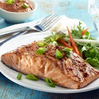 Ancho-Honey Glazed Salmon