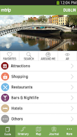Screenshot of Dublin Travel Guide – mTrip