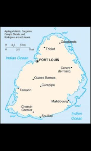 壁紙毛里求斯 Wallpaper Mauritius