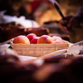 Apples by Ivan Cindrić - Food & Drink Fruits & Vegetables ( fruit, food, basket, apples )