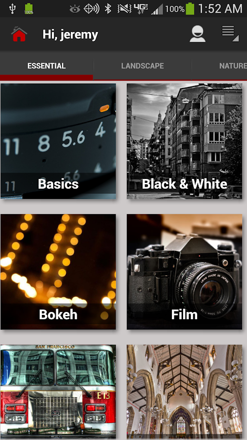 DSLR Photography Training apps Screenshot 5