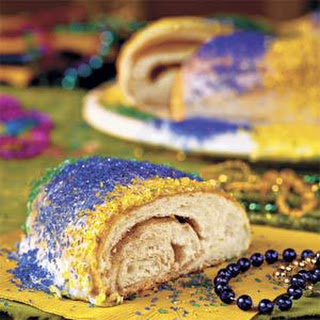 Cream Cheese-Filled King Cake