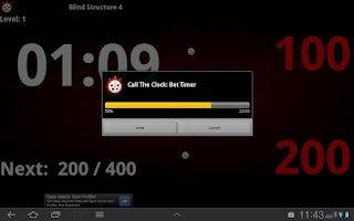 Screenshot of Talking Poker Timer - Clock