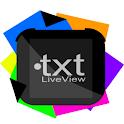 txt LiveView icon