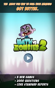 Math Vs Zombies 2 - screenshot