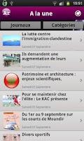 Screenshot of Maroc News 2 أخبار المغرب