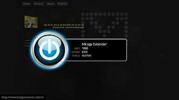 Screenshot of Mirage Extender Beta