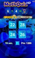 Screenshot of Math Quiz HD
