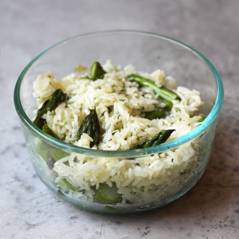 Asparagus and Rice Sauté