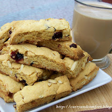 Cranberry and Almond Biscotti