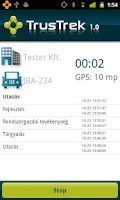 Screenshot of TrusTrek