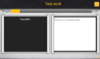 Screenshot of TopVoc Allemand B2