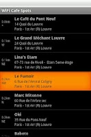 Screenshot of Paris Free WiFi