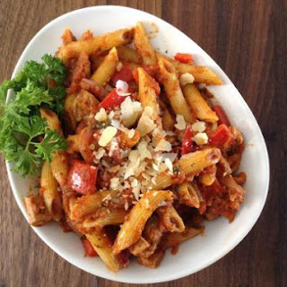 Tre Salse (Three Sauce) Chicken Penne