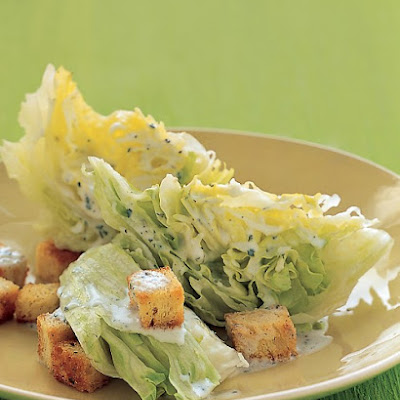 Iceberg Wedges with Chile-Buttermilk Dressing