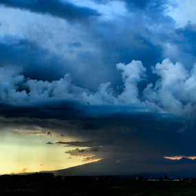 Storm by Cristobal Garciaferro Rubio - Landscapes Weather ( clouds, mexico, sunset, storm )