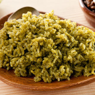 Spicy Green Rice (Arroz Verde)