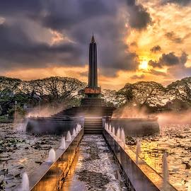 Tugu Kota Malang by Randi Pratama M - Buildings & Architecture Statues & Monuments ( statue, monument,  )