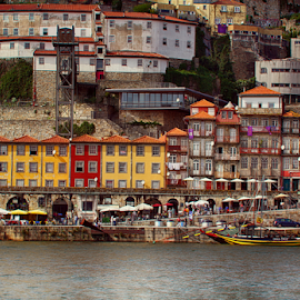 Ribeira by Fátima Leão - City,  Street & Park  Historic Districts ( ribeira )