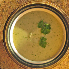 Cold Cucumber Soup with Tarragon
