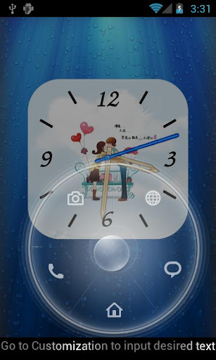 Anytouch Clock Free Theme