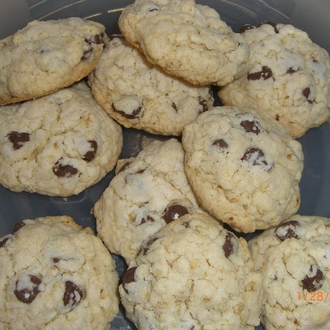 Chocolate Chip Egg Free Cookies