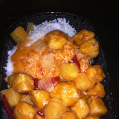 Gluten free sweet and sour chicken