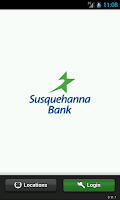 Screenshot of Susquehanna Bank Mobile