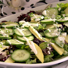 Gold and Green Salad