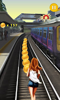 Screenshot of Girl Subway Run
