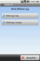 Screenshot of Tabulex Forælder