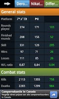 Screenshot of Battlefield 3 Analytics