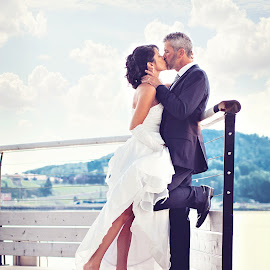 by Jenny Tardif - Wedding Bride & Groom