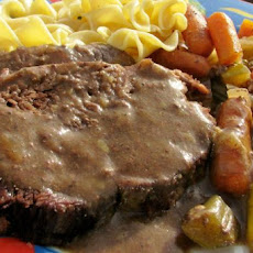 German-Style Beef Roast for the Crock Pot