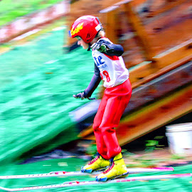 Norge Ski Jumping by Jon Radtke - Sports & Fitness Other Sports ( norge ski jumping )