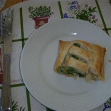 Spinach Strudels