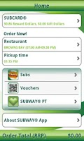 Screenshot of SUBWAY®
