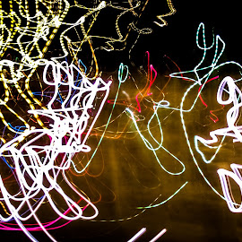 Mix lights by Imed Kolli - Abstract Light Painting ( abstract, light painting, colors, art, mix lights, long exposure, shutter speed, light, photography, Lighting, moods, mood lighting )