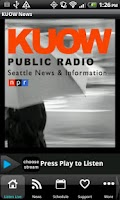 Screenshot of 94.9 KUOW Public Radio Seattle