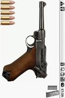 Screenshot of Luger P08 Gun