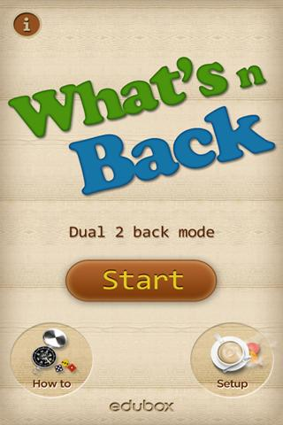 What's n back