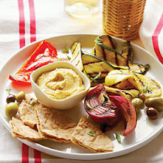 Grilled Vegetable Meze Plate
