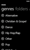 Screenshot of Metro UberMusic Skin