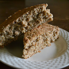 Oat Quickbread with Sunflower Seeds and Flax