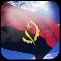 3D Angola Flag icon